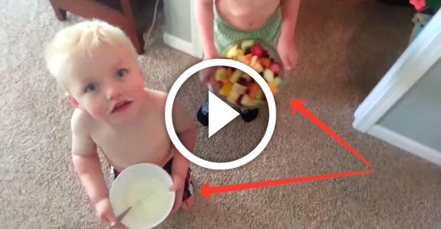 Мылыши пытаются удивить маму