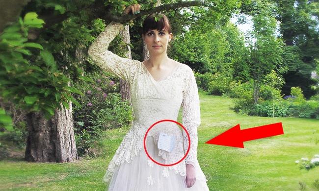 мужчина пожертвовал свадебное платье