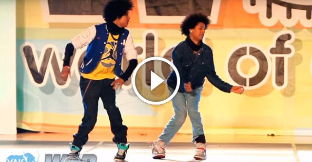Танец Les Twins