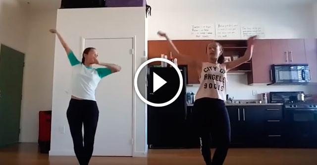 Индийский танец с хип-хопом