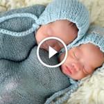Как фотографируют младенцев