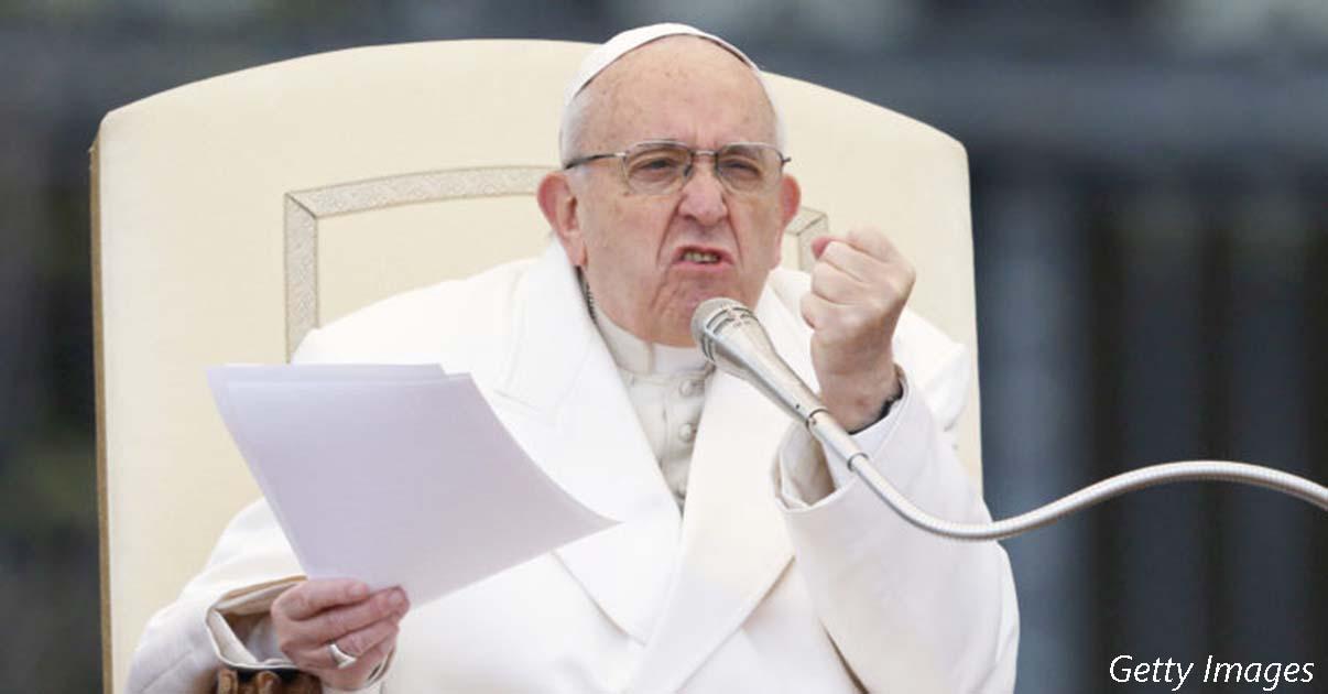 Папа сказал, что лучше быть атеистом, чем ходить в церковь и презирать окружающих