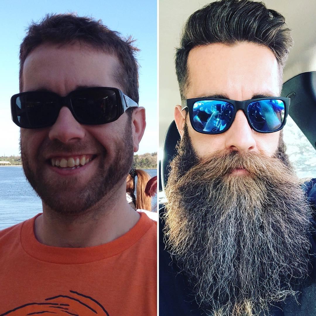 15 фотодоказательств того, что мужчина с бородой и без — два разных человека