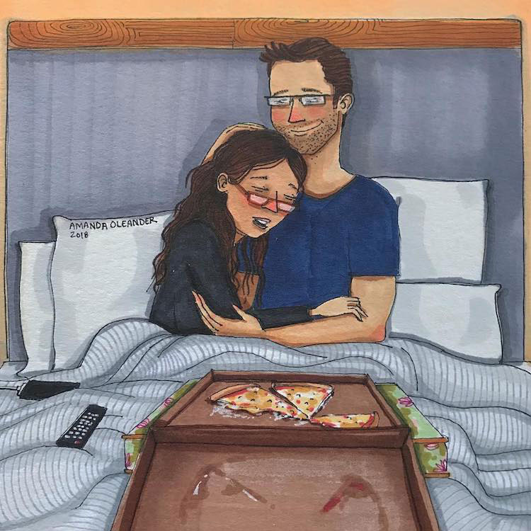 Аманда Олеандер, как выглядит любовь, рисунки об отношениях