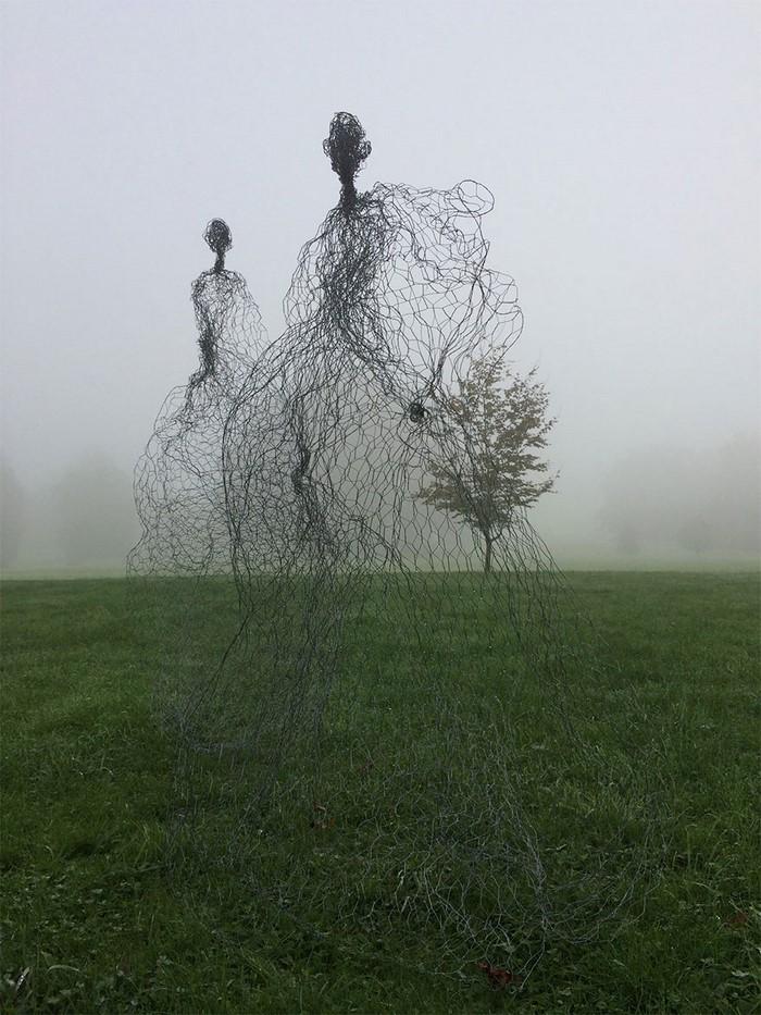Подборка фантастических скульптур от настоящих мастеров. Это шедевры!