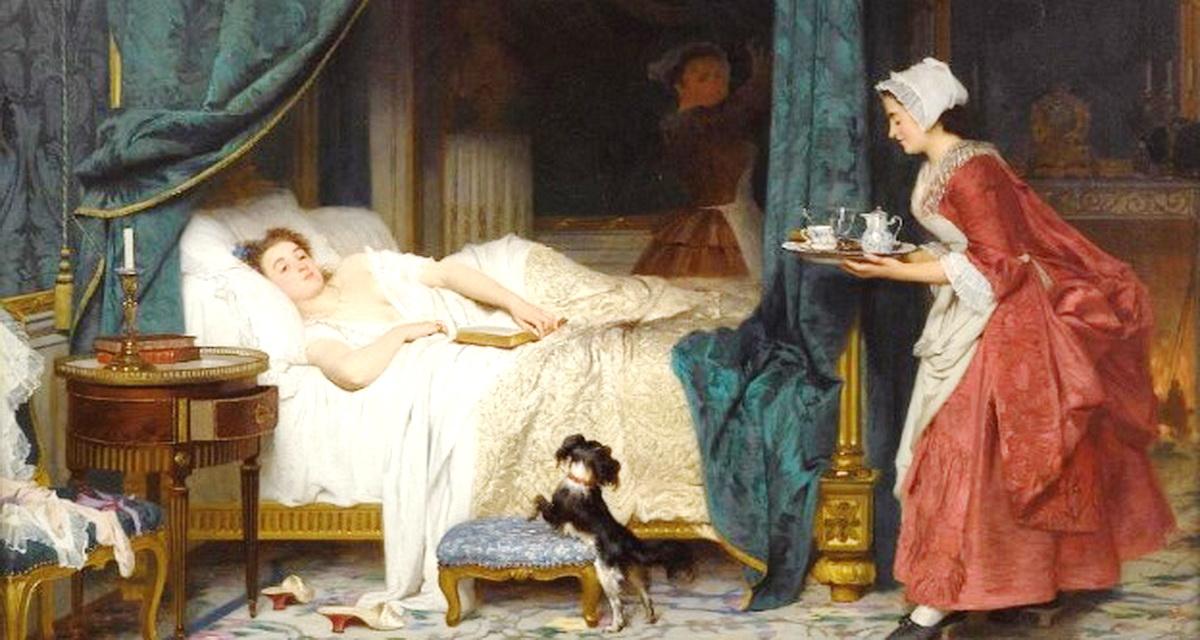Почему раньше супруги спали в разных комнатах. Смешное рассуждение