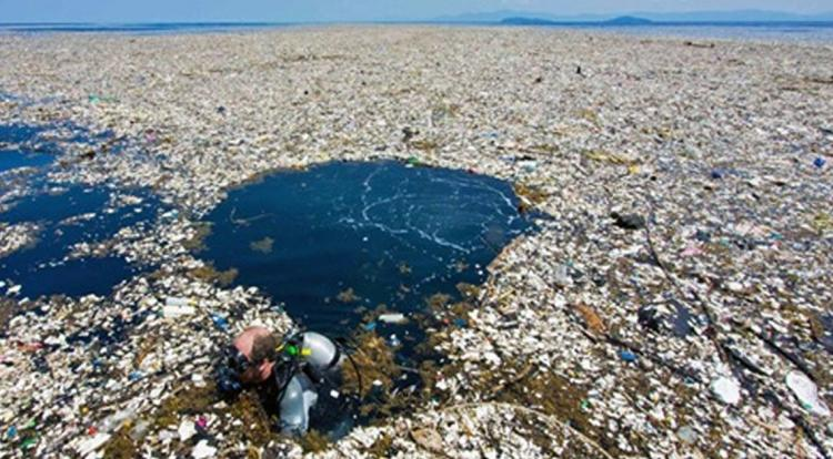 В Тихом океане плавает «Мусорный остров», весом в 3,5 млн тонн