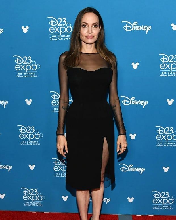 Анджелина Джоли набрала вес и порадовала поклонников своими формами