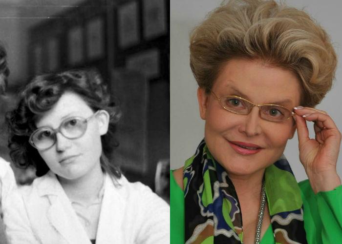 Как выглядели знаменитые телеведущие в молодости