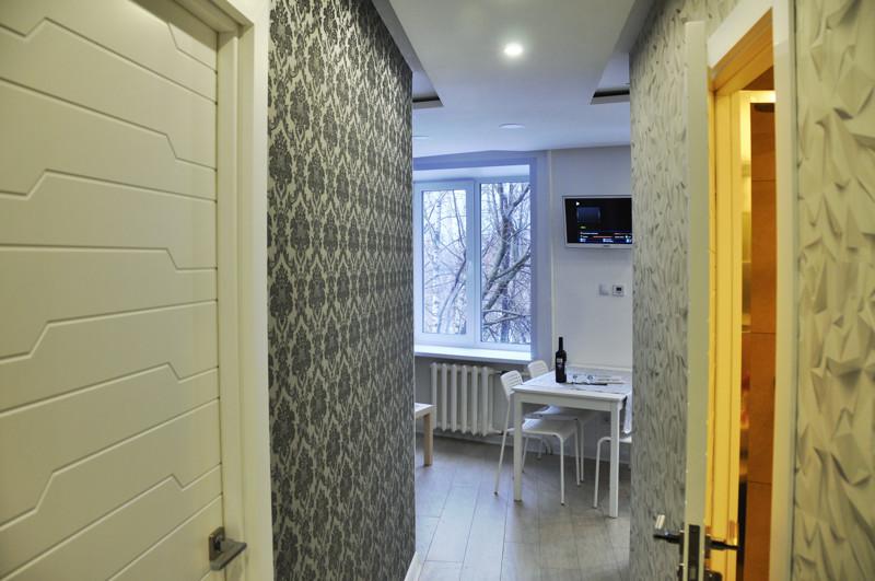 Мужчина сам отремонтировал квартиру 32 кв.м отремонтировал. Удобно и практично!