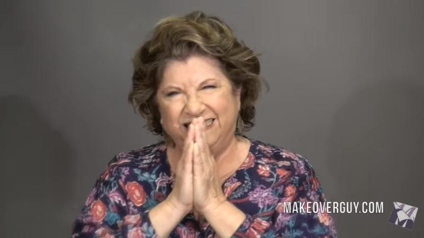 72-летняя женщина захотела выглядеть «на 40». Стилист сотворил чудо