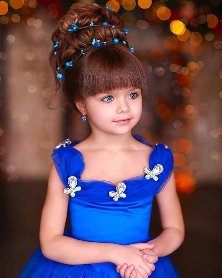 В 6 лет эта малышка получила звание самой красивой в мире. Прошло пару лет и вот как она изменилась