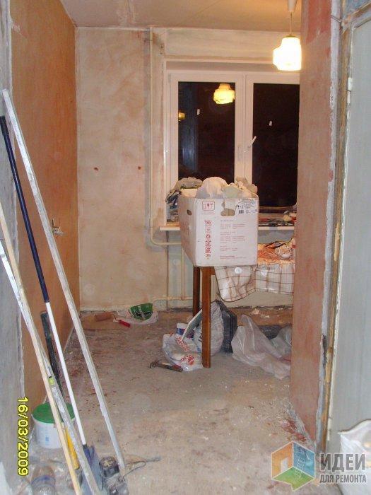 Он перестроил старую квартиру своими руками. Стильно и уютно!
