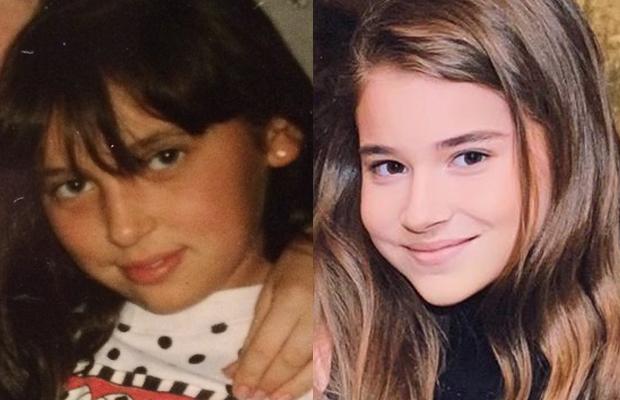 Сравнение снимков знаменитостей и их малышей в одном возрасте