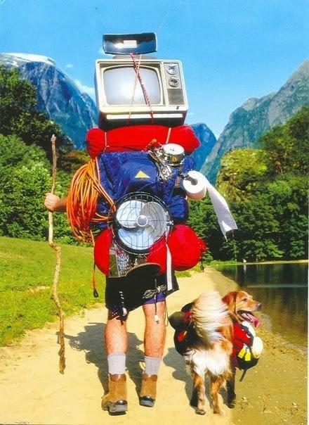 Подборка смешных фото из походов. Море позитива и смеха!