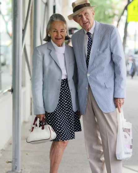 Пожилые пары, которые восхищают своим стилем и отличным вкусом