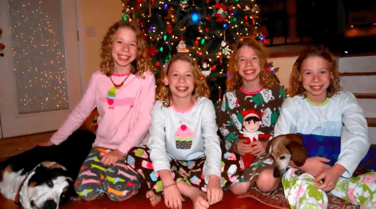 Смеющиеся четверняшки выросли. Вот такой стала эта очаровательная семья спустя 16 лет
