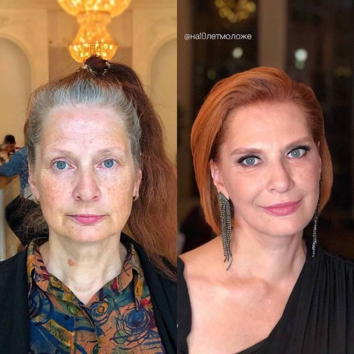 После посещения стилиста эти дамы преобразились до неузнаваемости