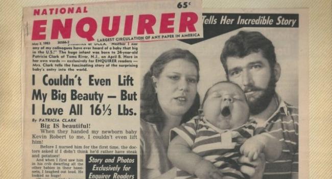 В 1983 году родился малыш весом 7,2 кг. Как он живет 36 лет спустя?