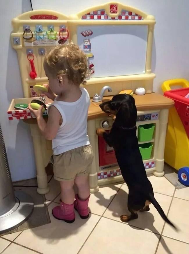 Несколько доказательств тому, что собака — лучший друг ребенка