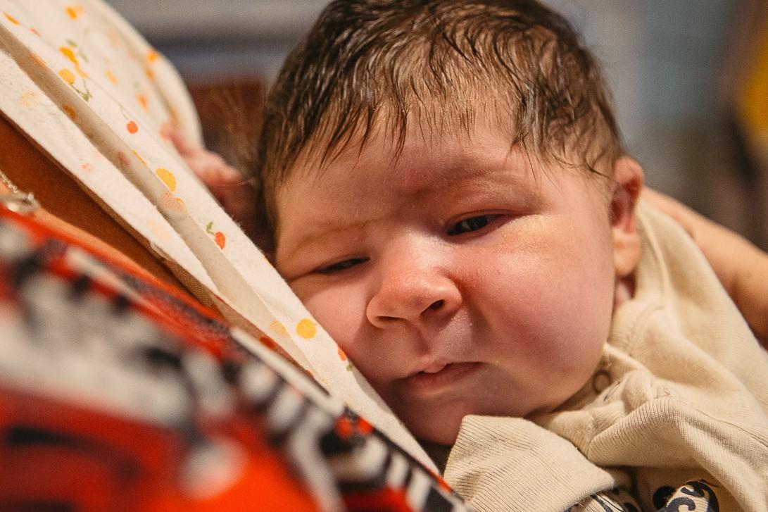 Настоящий богатырь! Один из самых крупных новорожденных в Украине появился на свет с весом 7 килограмм!