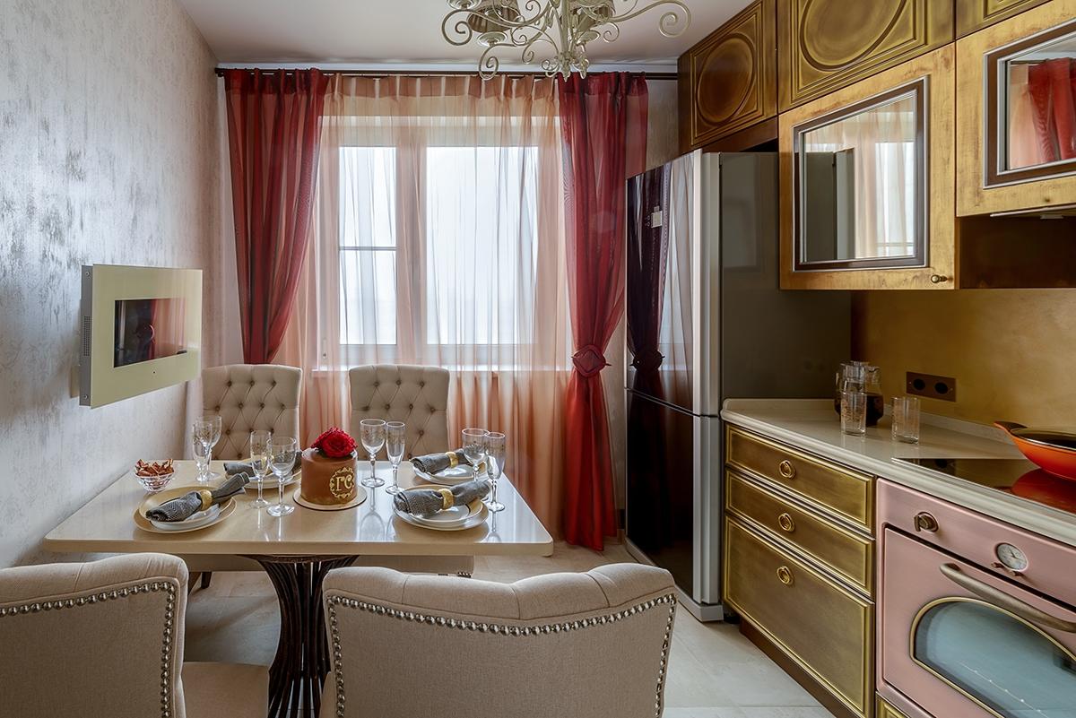 Передача «Идеальный ремонт» преобразили кухню актрисы Галины Стахановой