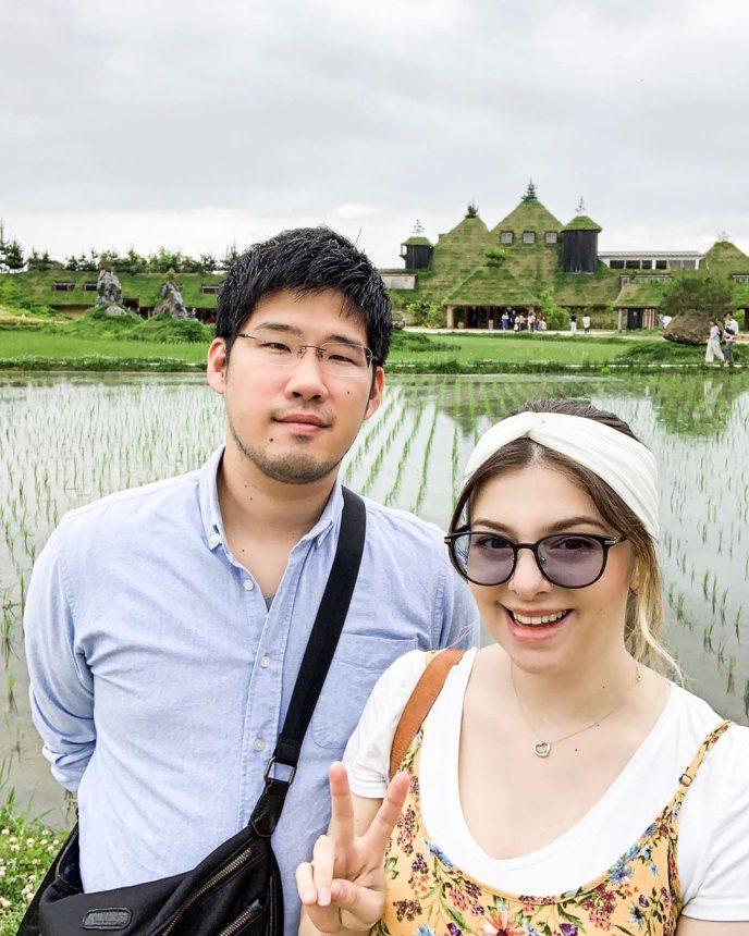 6 лет назад Наталья вышла замуж за японца, а сейчас у них подрастает красивая доченька