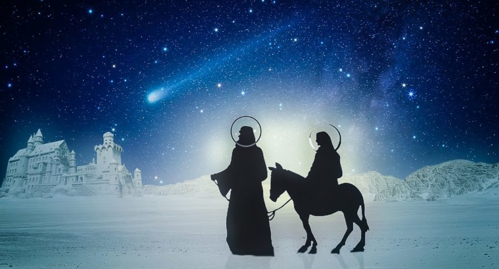 Рождение Иисуса Христа — это великая радость! С Рождеством!
