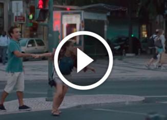 Пешеходный переход видео
