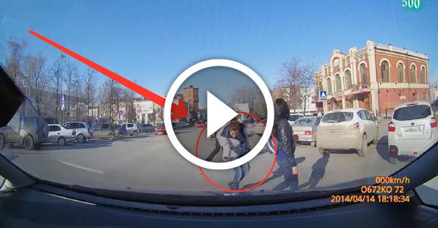 Пешеходы говорят спасибо когда им уступают дорогу