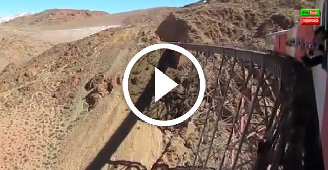Самая страшная железная дорога в мире