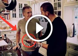 Дэвид Блэйн удивил Харрисона Форда карточным фокусом