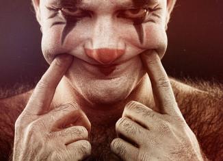пугающие портреты клоунов
