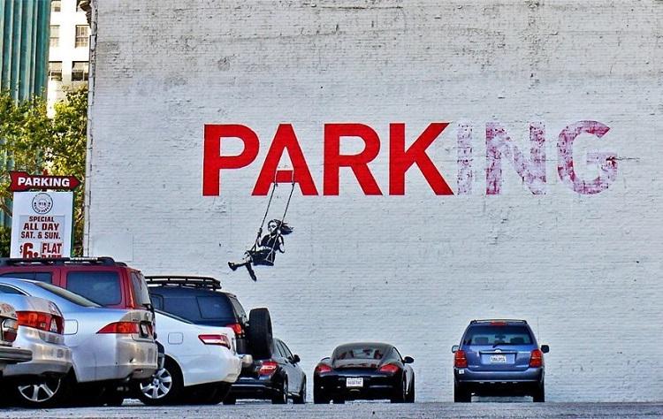 граффити на социальную тематику