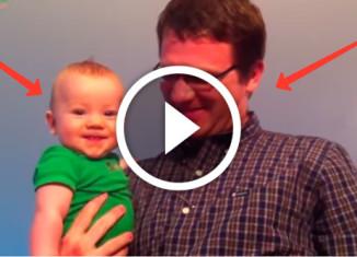 дети встречают отцов с работы