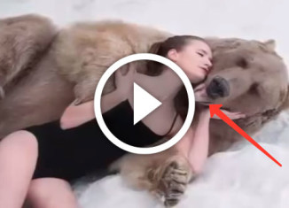 Фотосессия с медведем