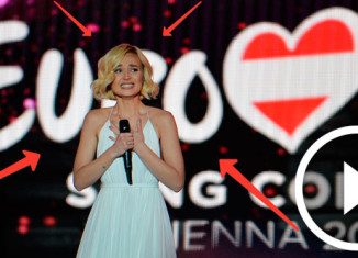 Полина Гагарина в финале Евровидения