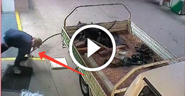 неудачная попытка кражи банкомата