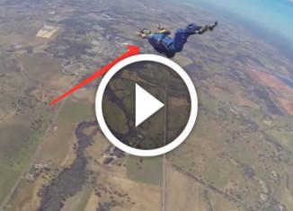 парень потерял сознание прыгая с парашютом