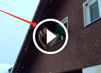невероятные прыжки из окна