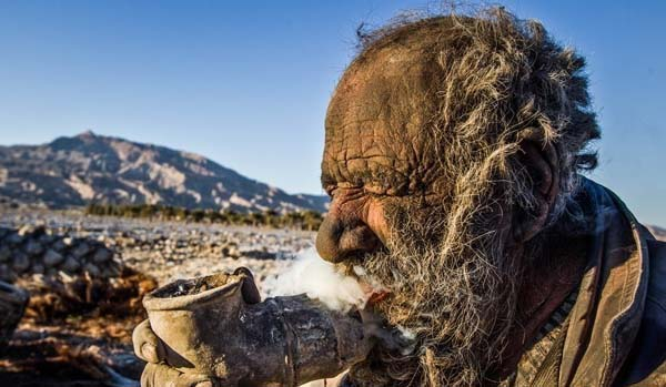 мужчина не мылся 60 лет