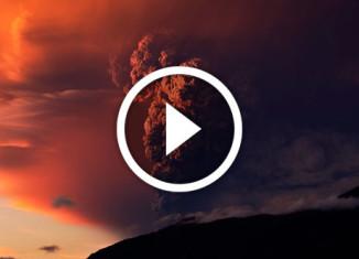 извержение вулкана в чили