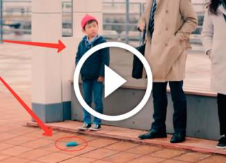 как реагируют дети на выпавший кошелек