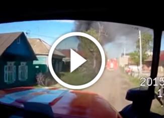 пожар глазами пожарного