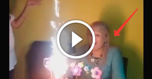 сожжение бабушки