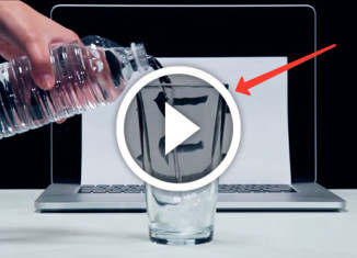 трюки с водой
