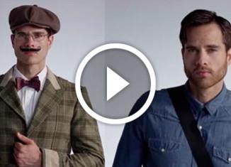 100 лет мужской моды за 3 минуты