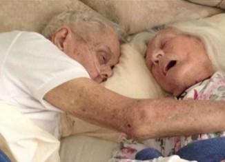 история любви пожилой пары