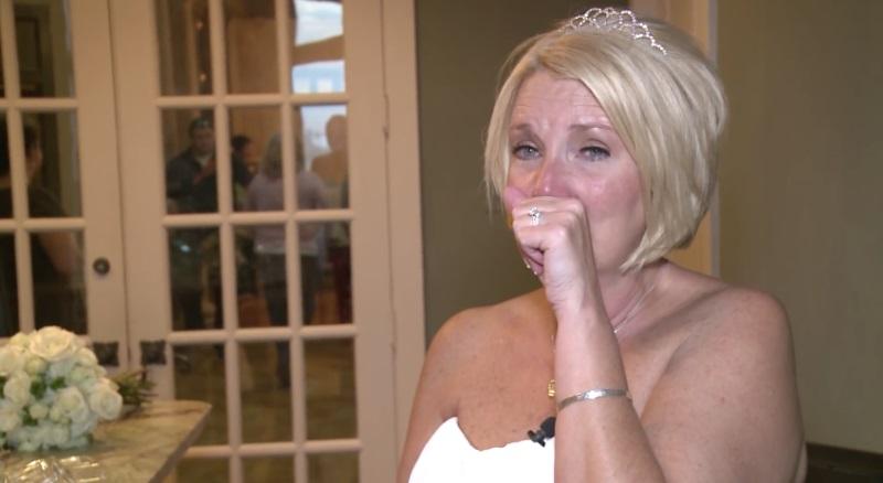 неожиданный сюрприз на свадьбе
