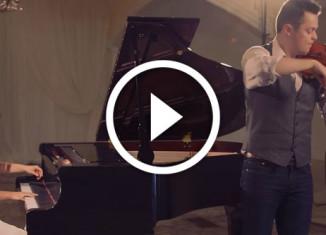 аллилуйя на скрипке и фортепиано